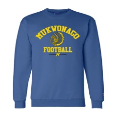 Crewneck Sweatshirt - Mukwonago Football